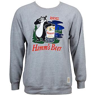 האם בירה רטרו הלוגו של גברים ' s הת גריי הסווטשרט