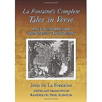 Completa contos la Fontaine em verso: uma tradução comentada e ilustrada