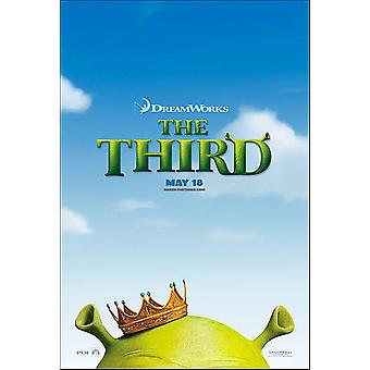Shrek The Third (Double Sided Advance) (2007) Original Cinema Poster