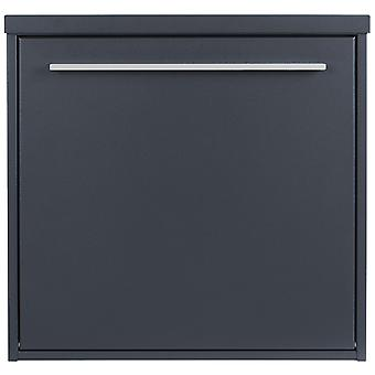 MOCAVI box 99 modern design mailbox anthracite grey (RAL 7016) with lock, German brand quality