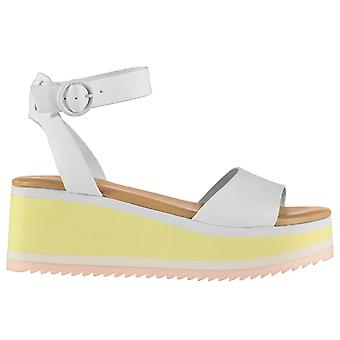 Aldo Womens Ladies Sariana Platform Ankle Strap Flats Sandals Summer Shoes