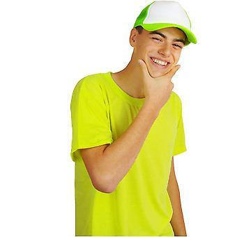 Hårpynt Baseball cap Neon Fluo grøn