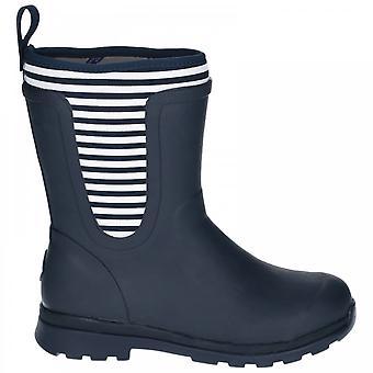 Muck Boots Cambridge Mid Marinblå/vit
