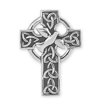 השילוש הקדוש קשרים הקודש ויונה איונה מנזר קרוס פינים צורה אבזם בגד בגדים הטקסטיל