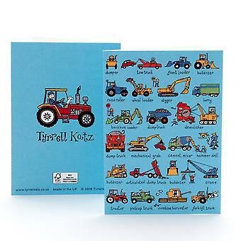 Carte de voeux Tyrrell Katz Trucks