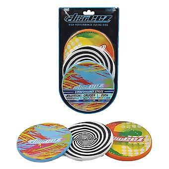 Disceez High Performance Flying DIC, 13cm, valikoitu (3 kpl), maali
