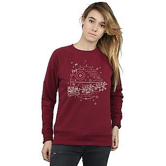 Star Wars Women's Death Star Sleigh Sweatshirt