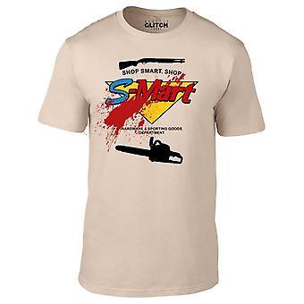 Men ' s-Mart t-shirt.
