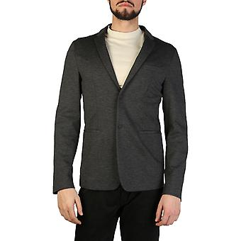 Emporio armani men's formal jacket, antracite grey 1492