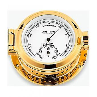 Wempe chronometer works nautical portholes Thermo-hygrometer CW100005