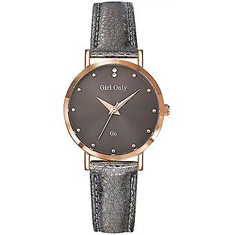 Go Girl Only 699072 - watch leather grey woman