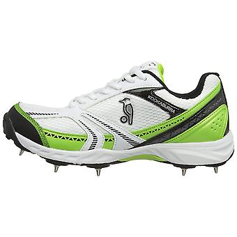 Kookaburra 2019 Pro 500 Dual Option Kinder Junior Cricket Schuh Spike Weiß/Grün
