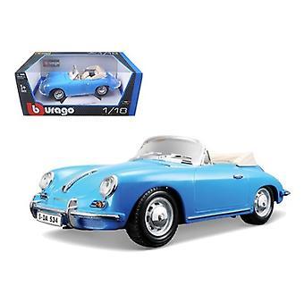 1961 Porsche 356B Convertible Blue 1/18 Diecast Car Model par Bburago