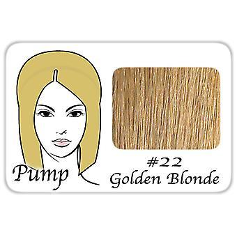 #22 kultainen blondi Pro Pump-kiusaa helposti