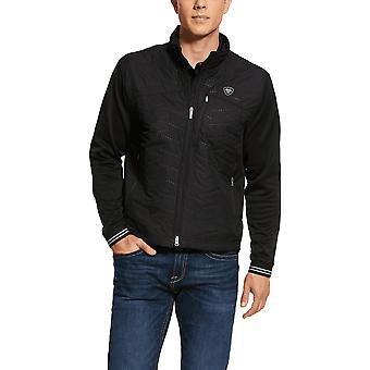 Ariat Mens Hybrid Insulated Water Resistant Jacket - Noir