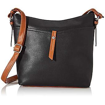 Tom Tailor Acc Novara - Black Women's Shoulder Bags (Schwarz) 28x25x8.5 cm (W x H L)