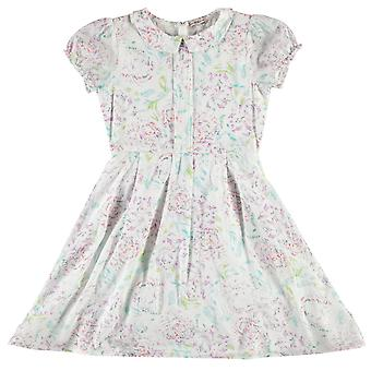 French Connection Girls Cotton Floral Dress Round Neck Short Sleeve