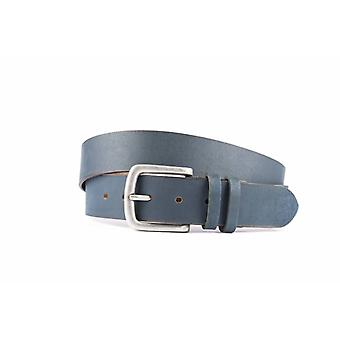 Tough Blue Jeans Belt For Women and Men With Double Loop