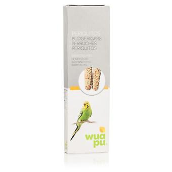 Wuapu Bâtonnets Miel pour Perruches (Oiseaux , Snacks)