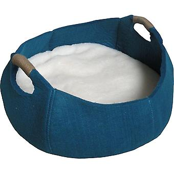 Agrobiothers Felt Basket With Handles For Cats (Cats , Bedding , Beds)