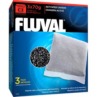 Fluval FLUVAL C3 carbom (Vissen , Filters en waterpompen , Filter materiaal)