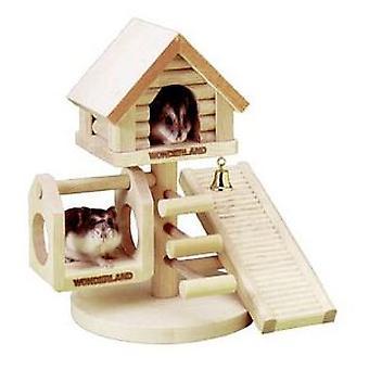 Karlie Flamingo Wonderland treehouse for hamster 21 x 22 x 16 cm