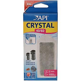 API Crystal Superclean40 / 60 X2 (fisk, filter & vattenpumpar, filtrera svamp/skum)