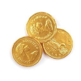 Chocolate Loonies Foiled-( 22lb )