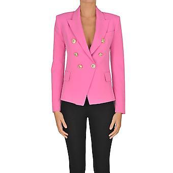 I.c.f. Ezgl456009 Women's Pink Polyester Blazer