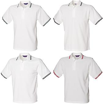 Henbury Mens 65/35 à pointe Polo Shirt