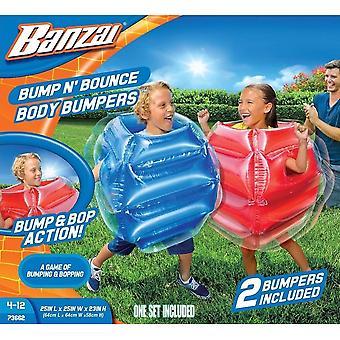 Banzai Bump N Bounce Body Puskurit (Pakkaus 2)