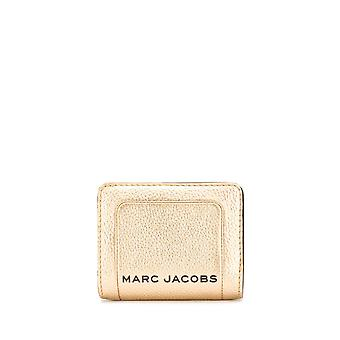 Marc Jacobs M0016186710 Women's Gold Leather Wallet