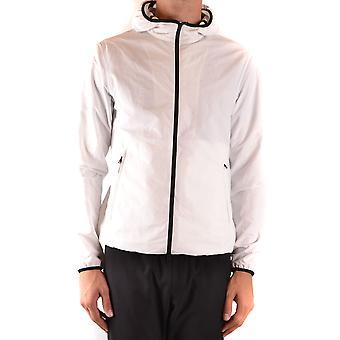Herno Ezbc034056 Men's White Polyester Outerwear Jacket