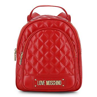Love Moschino Original Women Fall/Winter Backpack/Rucksack - Red Color 37950
