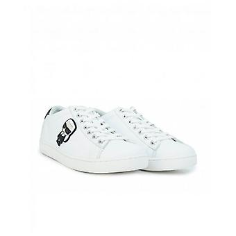 Karl Lagerfeld Kupsole II Karl Iconic Lace Up Trainers