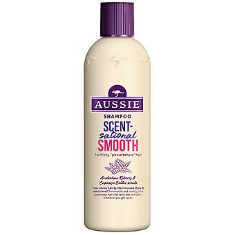Aussie Aromatic Shampoo Smooth 300 ml