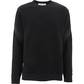 1017 Alyx 9sm Aamsw0034fa01blk0001 Men-apos;s Black Cotton Sweatshirt