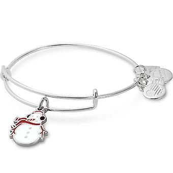 Alex and Ani Charity By Design Snowman Bangle Bracelet - CBD17SMSS