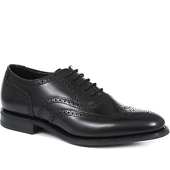 Loake by Jones Bootmaker Mens Cherokee Leather Oxford Wing-Tip Brogue