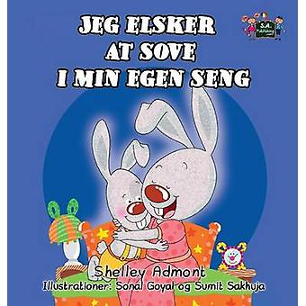 Jeg elsker at sove i min egen seng  I Love to Sleep in My Own Bed Danish Edition by Admont & Shelley