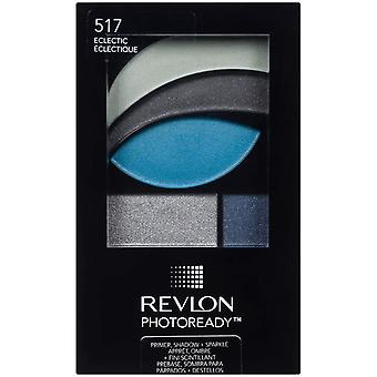 2 x Revlon Photoready Primer, Shadow & Sparkle Palette - 517 Electric