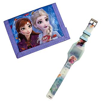 Frozen 2 - Armbandsur och Plånbok