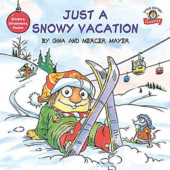Just a Snowy Vacation by Mercer Mayer - 9781984830777 Book
