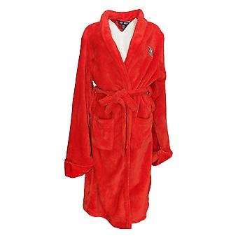 Northwest Make it Official Men's Robes 49ers Plush Red 1