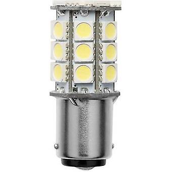 Wskaźnik LED Barthelme BA15D Biały biały 10 V DC, 30 V DC, 10 V AC, 18 V AC 350 lm 52143015