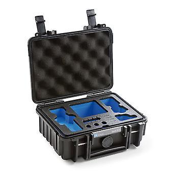 B&W Osmo Case Type 500 pour DJI Osmo Pocket, Noir Avec insert en mousse