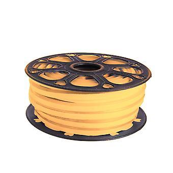 Jandei Tira LED NEON flexible 25m, Color luz Blanco Cálido 2200K 12VDC 8 * 16mm, corte 2,5cm, 120 led/m SMD2835, decoración, formas, cartel led