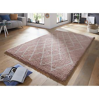 Allure 103775 Touch Rose Cream  Rectangle Rugs Modern Rugs
