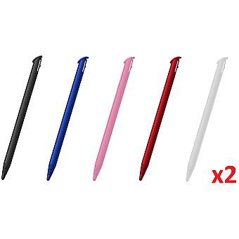 10x Colour Touch Stylus Pen for - ̗̀new ̖́- Nintendo 3DS XL