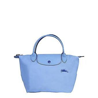 Longchamp 1621619p38 Women's Light Blue Nylon Handbag